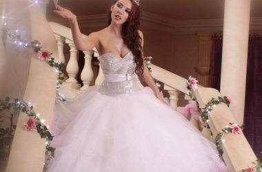 belle robe de mariée de créateur