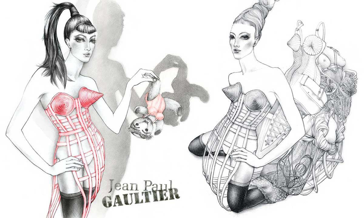 illustrations mode et beauté
