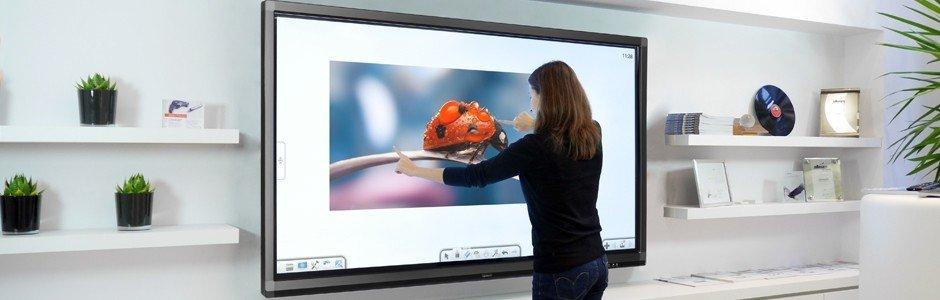 ecran interactif tactile géant sous android